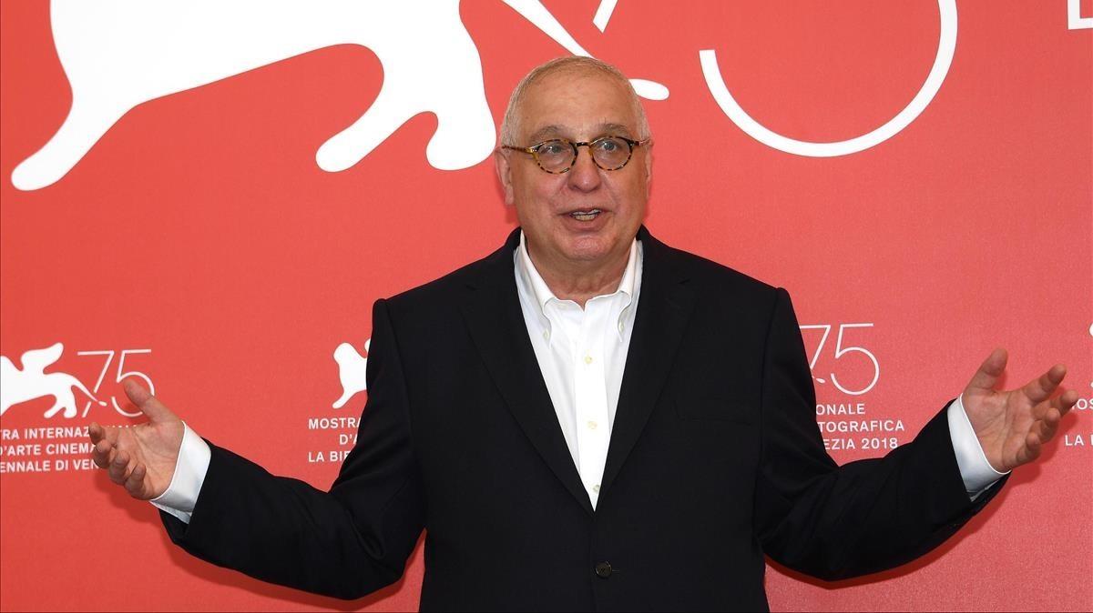 Errol Morris, en la presentación de American Dharma en Venecia