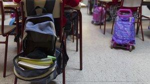 Aulas llenas en el inicio de curso escolar.