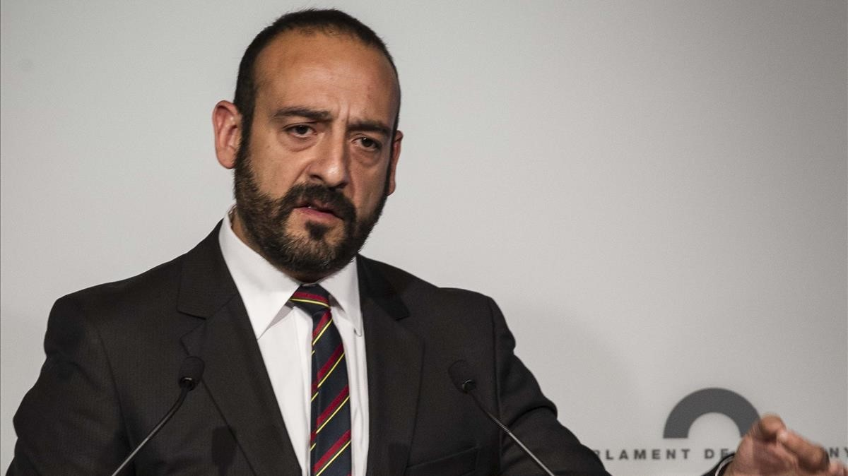 El eurodiputado de Ciudadanos Jordi Cañas.