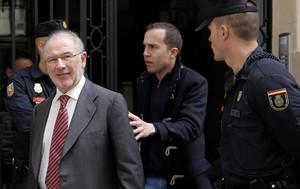 El exdirector del FMI y exvicepresidente del Gobierno Rodrigo Rato, el pasado abril.