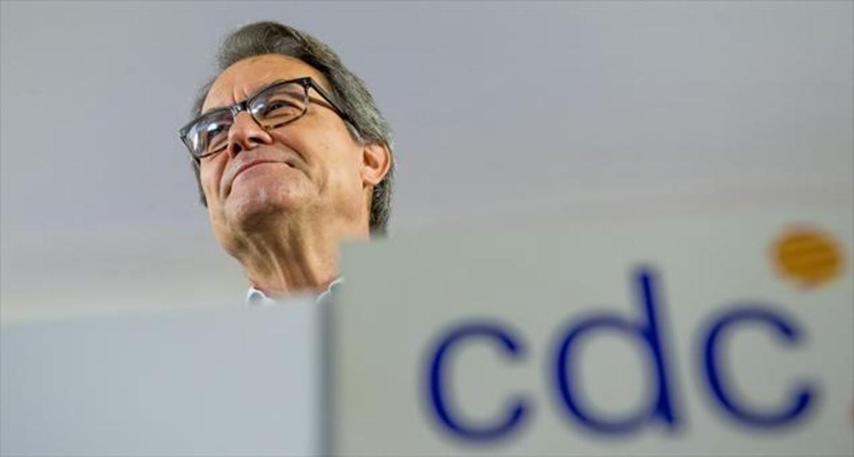 El expresidente de la GeneralitatArtur Mas, en una foto de archivo.
