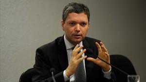 Fabiano Silveira, el hasta ahora ministro de Transparencia de Brasil.