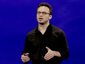 Oculus VR CEO Brendan Iribe speak during the Oculus 2 conference in Los Angeles  Iribe  a co-founder of Facebook s virtual-reality division  is joining the exodus of executives to leave the company after striking it rich in lucrative sales of their startups  Iribe disclosed his decision to leave Facebook in a tweet posted. AP Photo Nick Ut  File