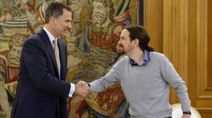 Tres candidatos de Unidos Podemos encabezarán la protesta de IU contra la monarquia, mañana viernes en San Sebastián.