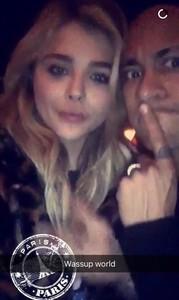 Les xarxes especulen amb un idil·li entre Neymar i Chloe Moretz