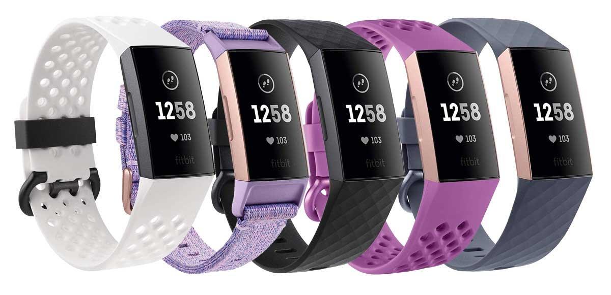 Versiones de Fitbit Charge 3, edición especial.