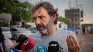 El fundador y director de Open Arms, Óscar Camps.