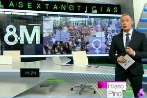 Hilario Pino se convierte en el primer hombre en presentar 'laSexta Noticias' en su historia