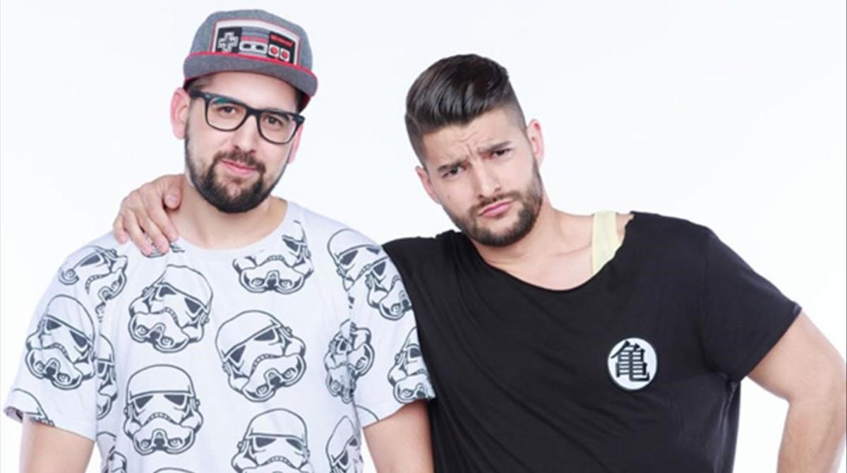 Los primos Matías y Nabil, ganadores de Pekín Express.