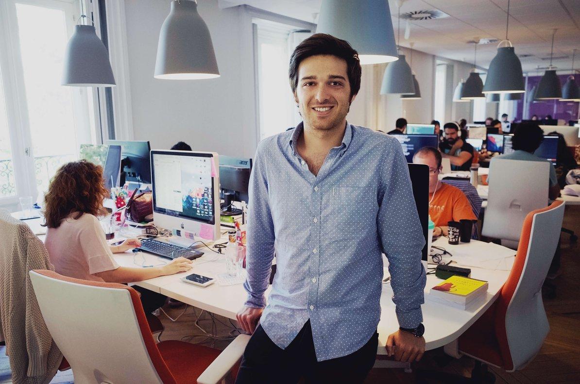 Ignacio Bachiller es el CEO de la startup Fever, con sede en Madrid.