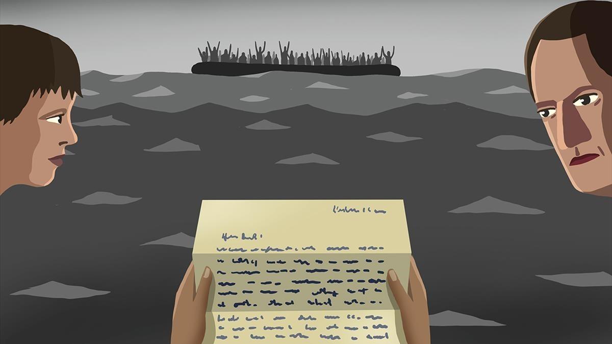 Carta de Junqueras a su mujer sobre los refugiados