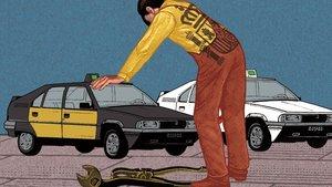 ¿Puede el taxi decir 'la calle es mía'?