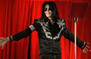 Imagen de Michael Jackson, en marzo del 2009.