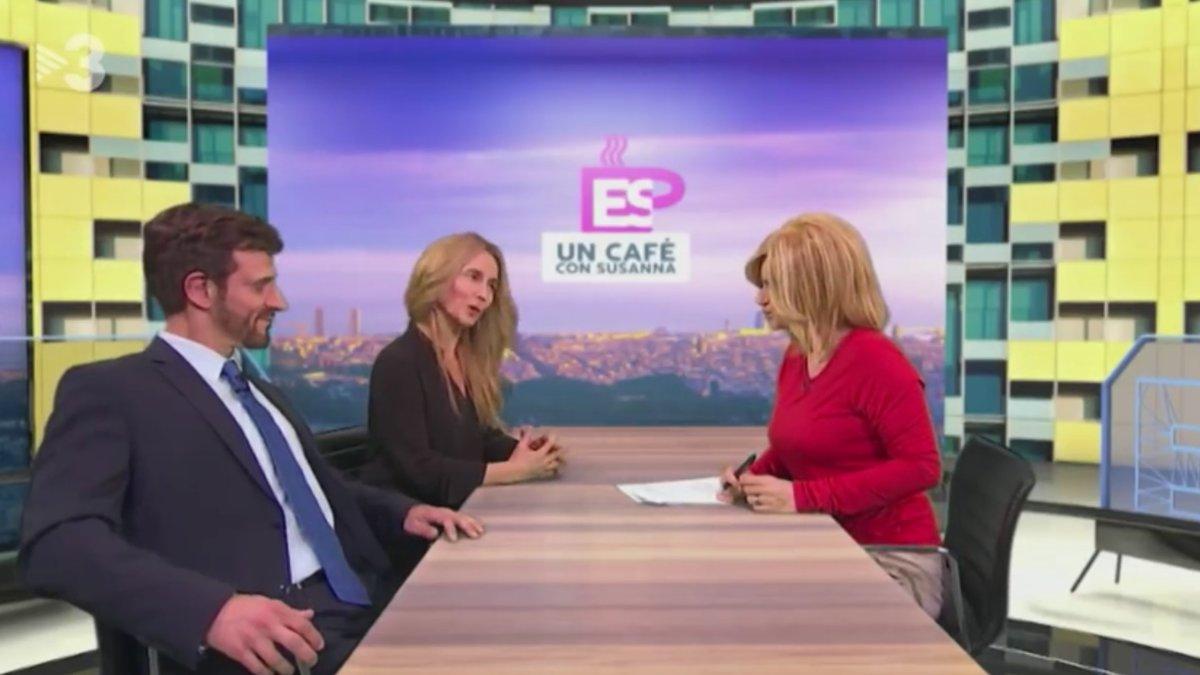 Susanna Griso recibe la visita de Pablo Casado y Cayetana Álvarez de Toledo en la última parodia de 'Polònia'