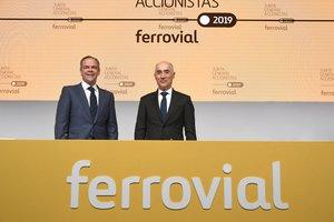 Inigo Meiras y Rafael del Pino, de Ferrovial.