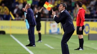 Valverde no va ser dels millors a Las Palmas