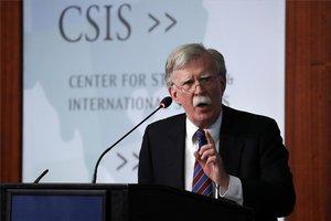 John Bolton, exasesor de seguridad nacionalde los Estados Unidos.
