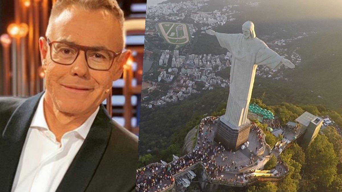 Jordi González, uno de los protagonistas de 'Viajeros Cuatro' en Río de Janeiro.
