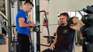 Jorge Lorenzo (Ducati), en una imagen reciente en su gimnasio.