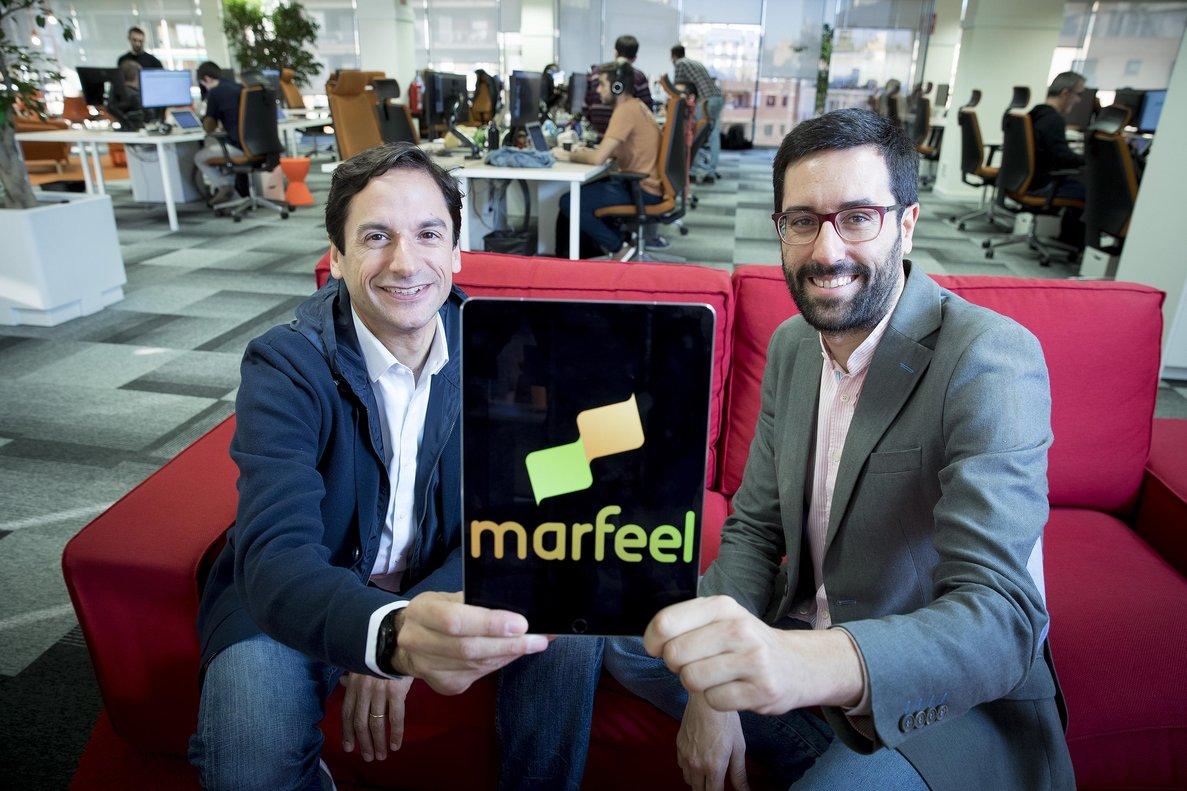 Juan Margenat yXavi Beumala, cofundadores de Marfeel.