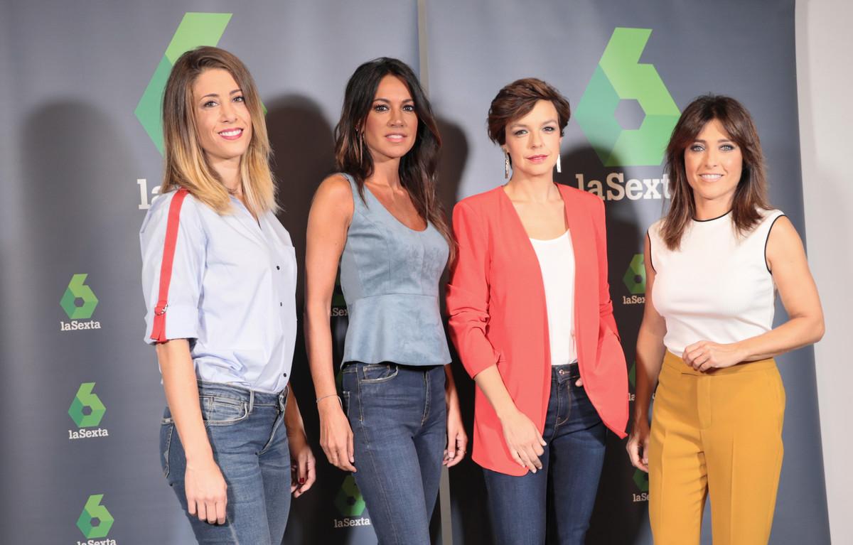 Las presentadoras de laSexta Noticias.