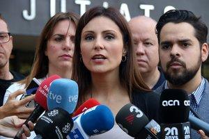 La líder de Cs en Catalunya, Lorena Roldán.