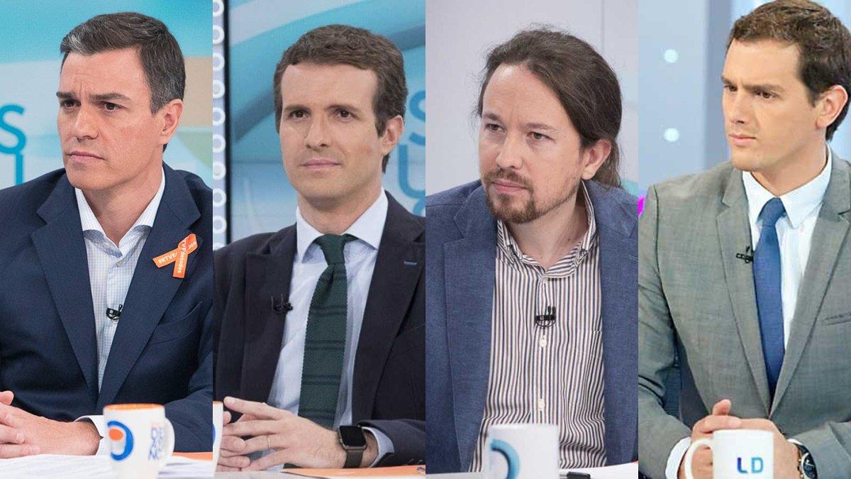 TVE contraprograma a Atresmedia haciendo coincidir los dos debates electorales el martes 23