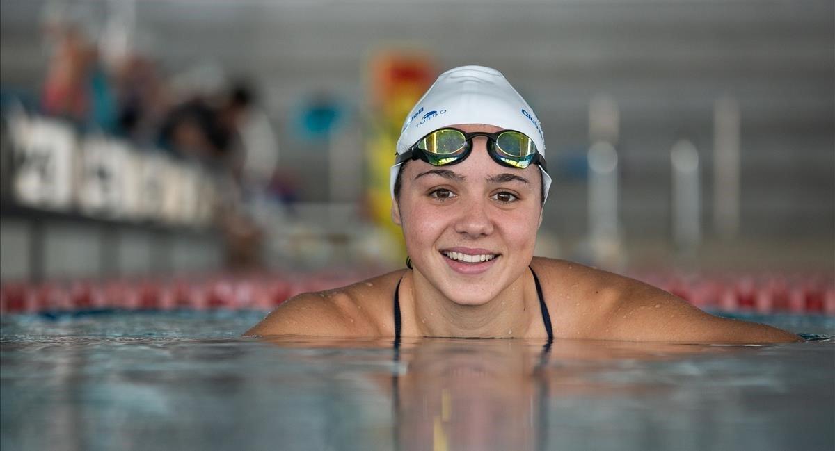 Catalina Corró torna a competir tres mesos després de la seva operació