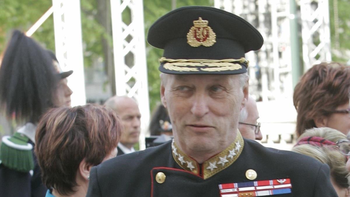 Harald de Noruega, en una imagen de archivo.