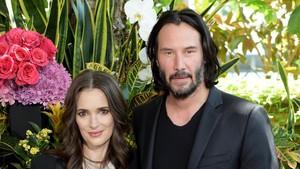 Keanu Reeves y Winona Rider, el 18 de agosto en Los Ángeles.