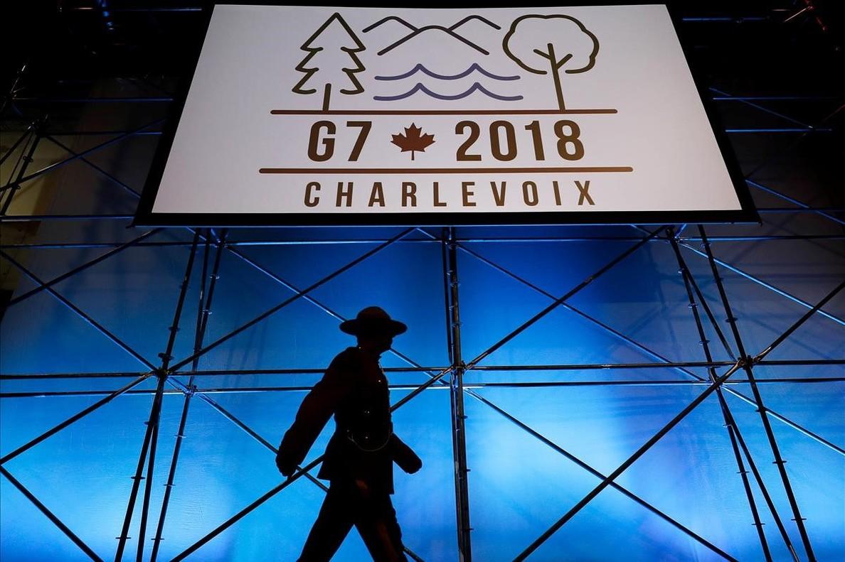 Cumbre del G7 anunció truenos, hasta ahora pocas nueces — Canadá