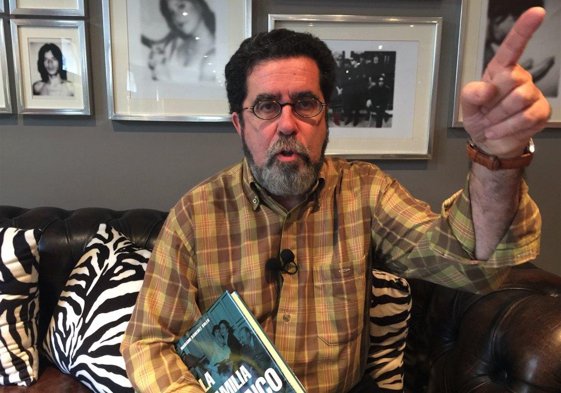 Mariano Sánchez Soler, autor de 'La Familia Franco SA'