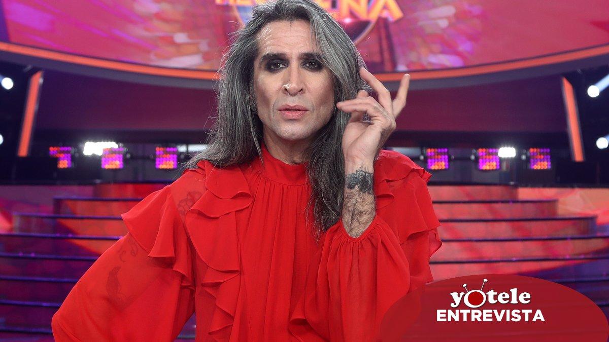 Mario Vaquerizo en el plató de 'Tu cara me suena 8'.