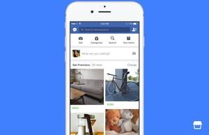 Facebook llança Marketplace per competir amb Wallapop i Ebay
