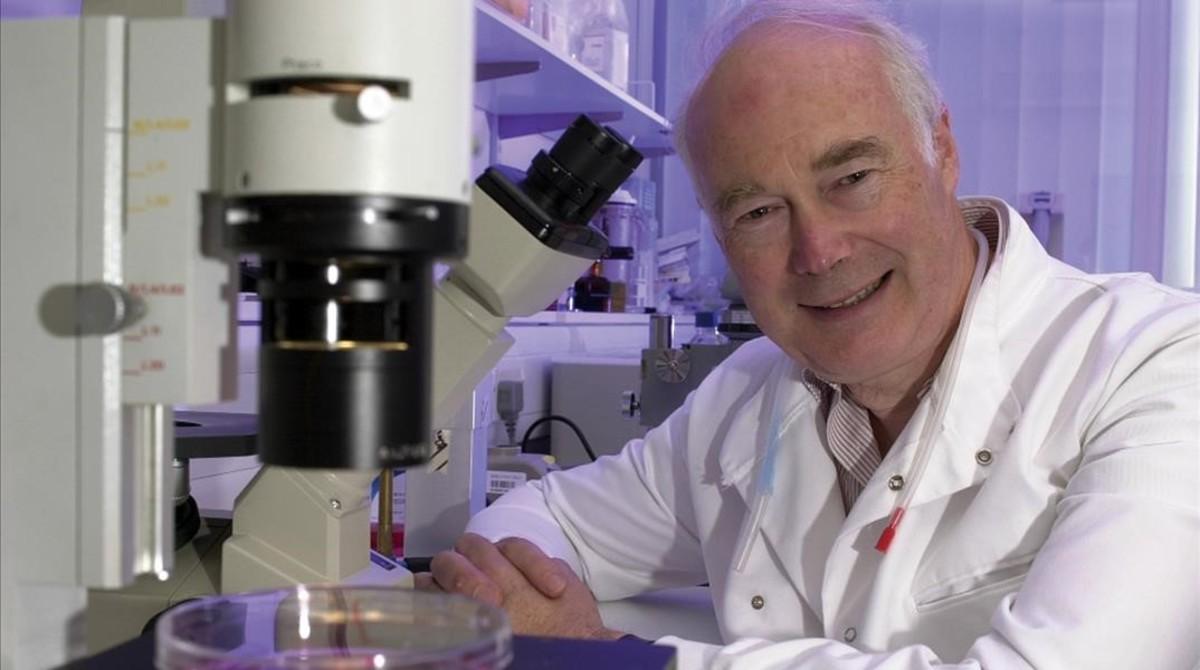 Martin Evans, en una imagen sin fecha, difundida en el 2007.
