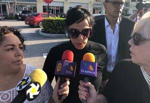 Marysol Sosa Noreña, una de las hijas del 'Príncipe de la canción'.