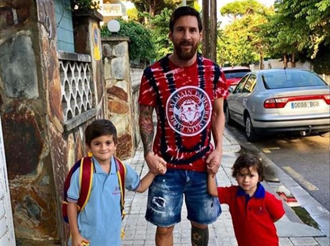 Vuelta al cole para los Messi