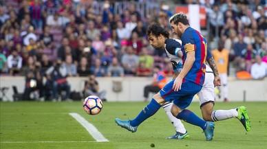 Volar con Messi