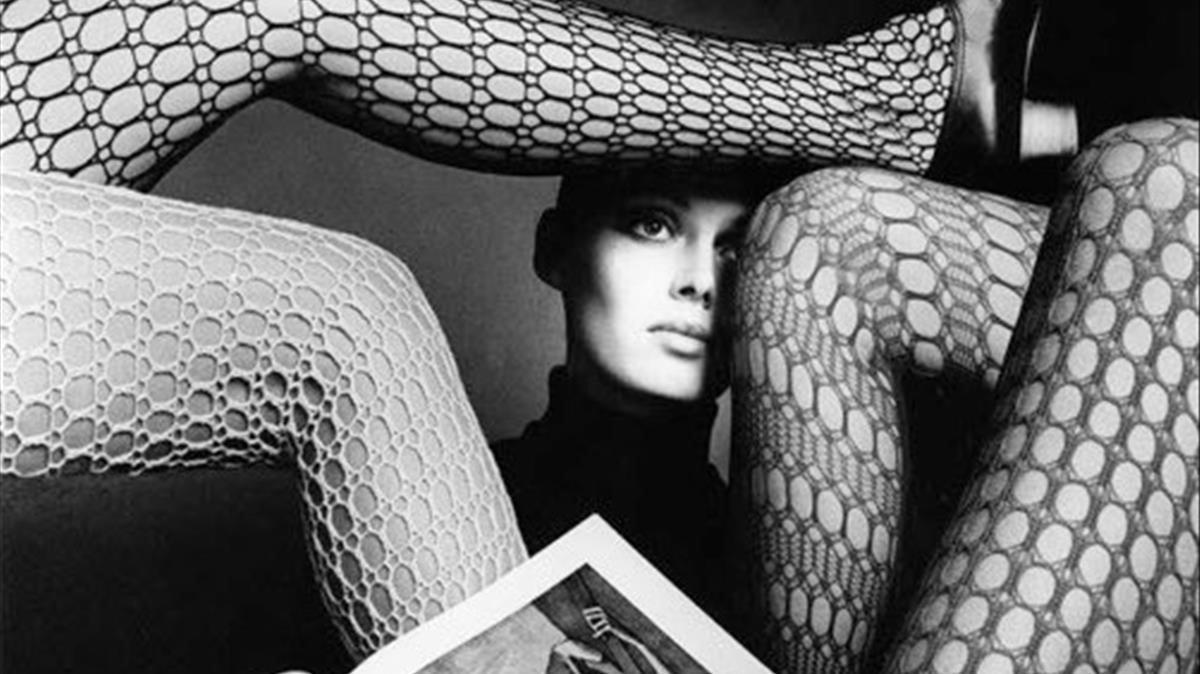 La modelo danesa Susan Holmquist