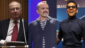 Rato, Bosé i Alves, en la llista de grans morosos d'Hisenda