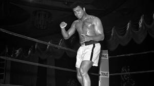 Muhammad Ali, durante la víspera de un combate