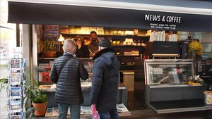 News & Coffee, en Paseo de Sant Joan, 17.