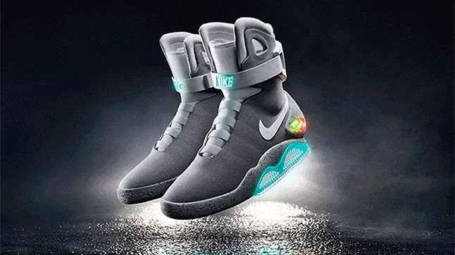 Nike Mag, las deportivas autoajustables de 'Regreso al futuro'.