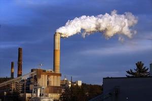 Una central térmica alimentada con carbón en el estado de NewHampshire.