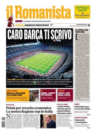 El diario del Roma pide al Barça que ponga precios asequibles para sus aficionados