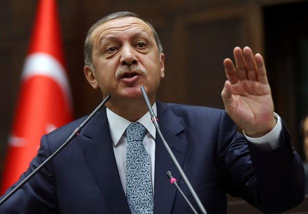 El primer ministro turco, Recep Tayyip Erdogan, en el Parlamento, el jueves en Ankara.