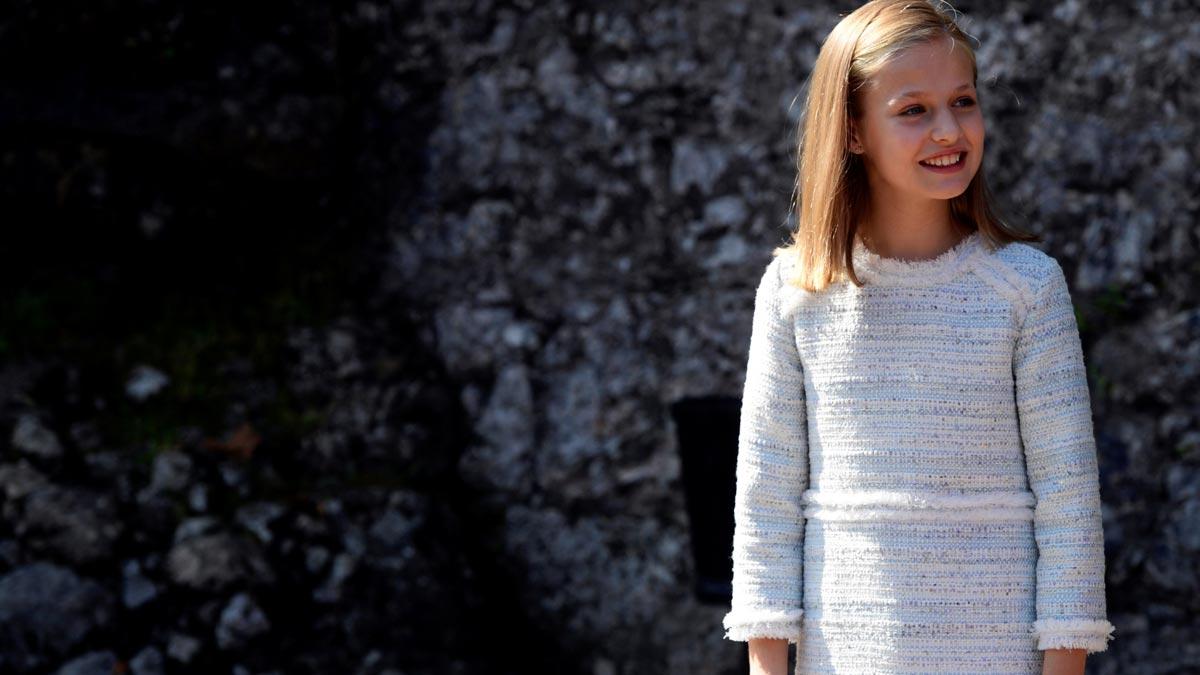 La princesa Leonor inaugura su agenda como heredera del trono de España.