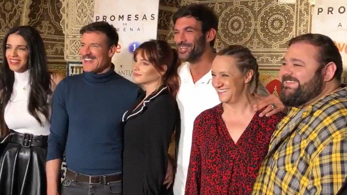 TVE presenta 'Promesas de arena', que llega al prime time de La 1 el próximo lunes