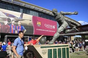 Qatar dejará de aparecer en la fachada del Camp Nou.