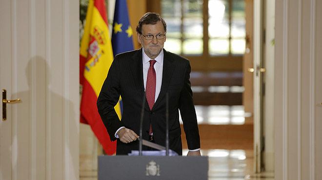 Rajoy apela al diálogo en su balance del año 2016.